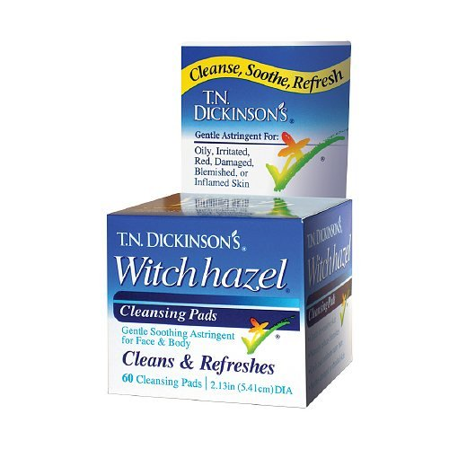 T.N. Dickinsons Hazelets Witch Hazel Pads - 60 Ea (Anthony Toner Pads compare prices)