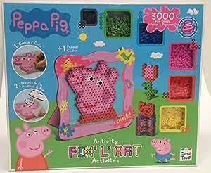 Peppa pig pixel hama fuse bead art set toys games - Fusee peppa pig ...