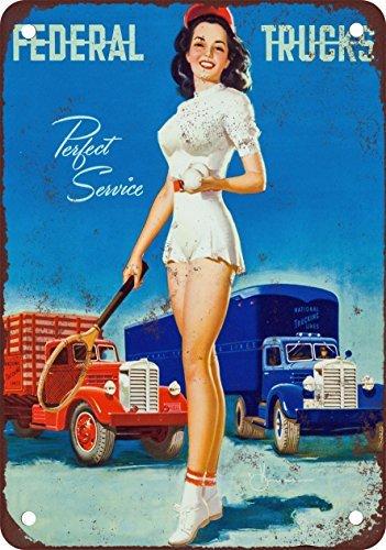 1954-federale-camion-pinup-stile-vintage-riproduzione-in-metallo-tin-sign-305-x-406-cm