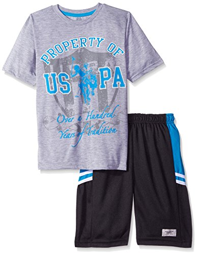 U S Polo Assn Baby Boys 39 T Shirt And Mesh Athletic Short