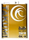 TAKUMIモーターオイル MULTI GEAR【75W-90】LSD対応 ギアオイル/デフオイル/高性能 化学合成油(HIVI) 最高規格GL-5 4L×6缶(1ケース)【送料無料】 MG7590-04024