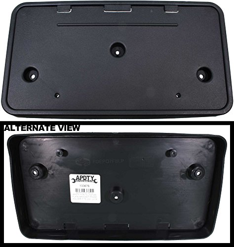 apdty-133676-license-plate-bracket-plastic-frame-holder-fits-2007-2014-ford-expedition-replaces-7l1z