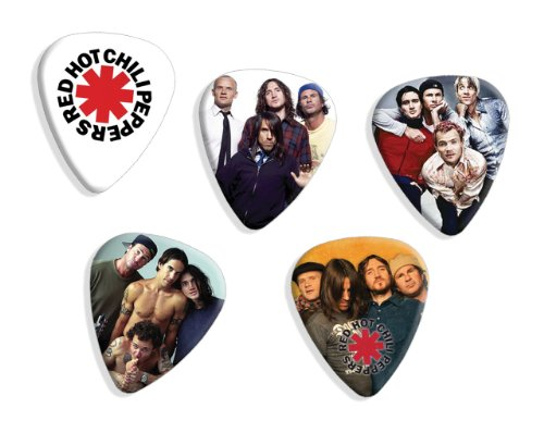 red-hot-chili-peppers-5-x-mixed-guitar-mediators-picks-set-a-plectrums
