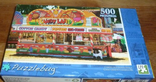 Candy Land Amusement Park Puzzle
