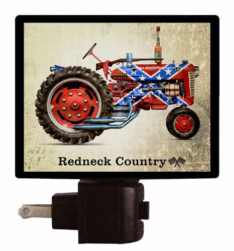Country Night Light - Redneck Country - Farm Tractor