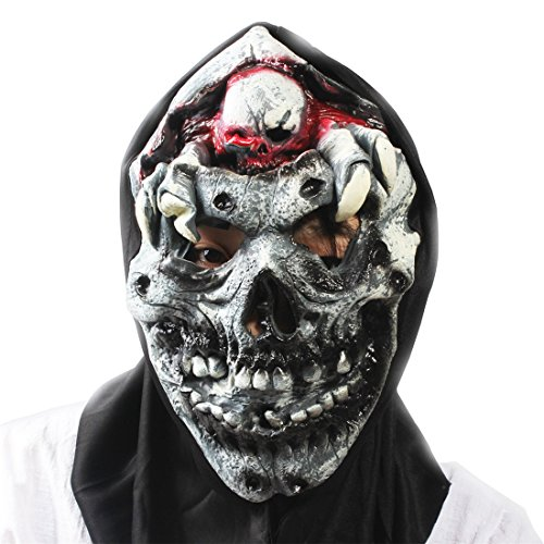 Evil Skull Ghost Horror Scary Halloween Carnival Party Costume Cosplay Full Face Mask