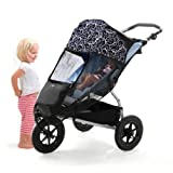Outlook Cow Print Shade A Babe UV Sun Mesh Cover for Pushchairsby Outlook