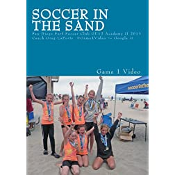 Soccer In The Sand 2013
