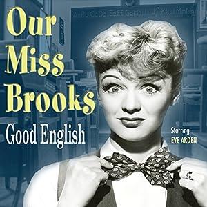 Our Miss Brooks: Good English Radio/TV Program