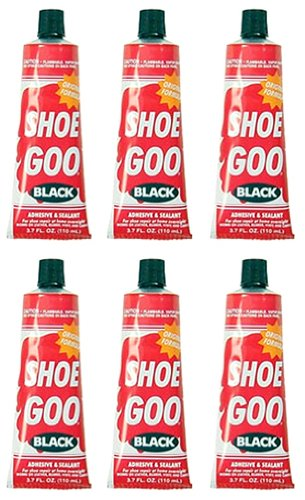 Shoe Goo Black 3.7 Oz Footwear Adhesive Coating