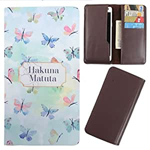 DooDa - For LG L60 PU Leather Designer Fashionable Fancy Case Cover Pouch With Card & Cash Slots & Smooth Inner Velvet