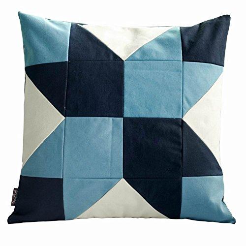 Blumenmuster Quadrat dekorative Kissen Sofa / Bett Kissen, Einsatz enthalten