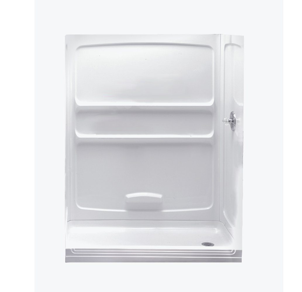 American Standard 6032.Y1SW.020 Complete Shower Wall Set, White