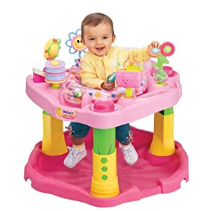 Evenflo ExerSaucer 1-2-3 Tea for Me Active Learning Center, Tea Party