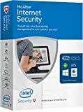 McAfee 2016 Internet Security Unlimited Devices, Key Code