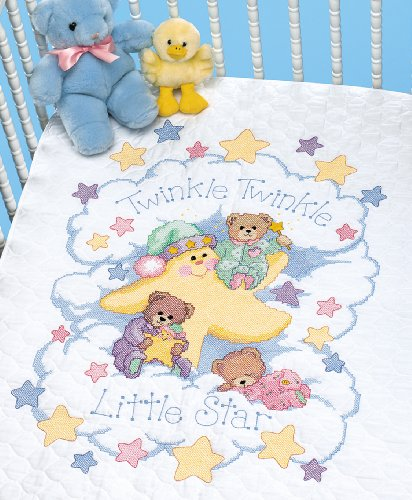 Dimensions Needlecrafts Stamped Cross Stitch, Twinkle Twinkle Quilt front-933722