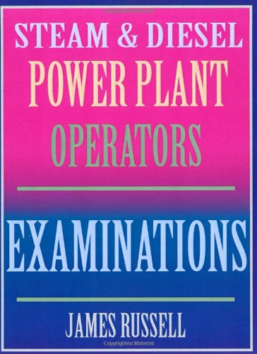 Steam & Diesel Power Plant Operators Examinations - J. R. Publishing - 0916367088 - ISBN:0916367088