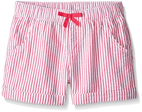 Gymboree Girls' Pink Seersucker Short, Multi, 7