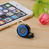 [2015 New Release] VicTsing® Smallest Mini Bluetooth Headset Earphone Earpiece Headphones With Hands-free Stereo For Apple iPhone 6,6 Plus,5,5S,5C,iPad,iPod, MacBook Air,Sumsung Galaxy S5,S4,Note,HTC One(M8),Most Bluetooth Enable Devices - Black