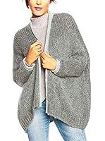 SO Cachemire & Knitwear Chaqueta Punto Evy (Gris)