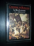 Carnival in Romans (0807609919) by Leroy Ladurie