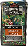 San Francisco Bay Coffee Ground, French Roast, 12 Ounces (Pack of 3)