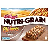 Kellogg's Nutri Grain Elevenses Chocolate Chip Bakes 5x6x45g