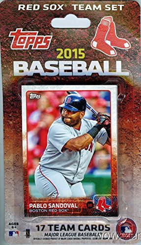 Boston Red Sox 2015 Topps Baseball Factory Sealed EXCLUSIVE Special Limited Edition 17 Card Complete Team Set with Dustin Pedroia and Many More Stars and Rookies ! los angeles clippers 2014 2015 hoops basketball nba licensed factory sealed 8 card team set with blake griffin chris paul and more