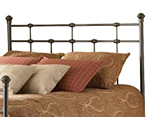 Fashion Bed Group Dexter Headboard, Hammered Brown, Twin