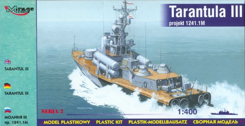 Mirage Hobby Tarantul III 1241.1M Model Kit - 1