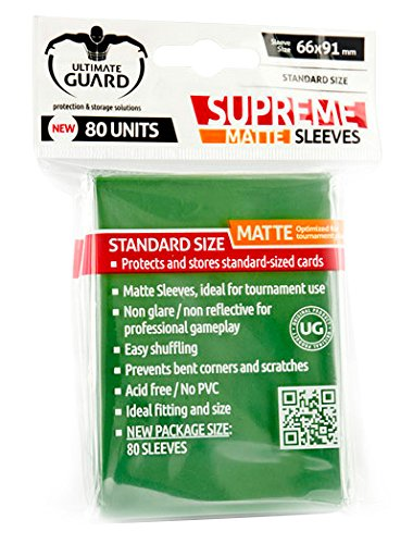 Supreme Matte Green Sleeves (80) - 1