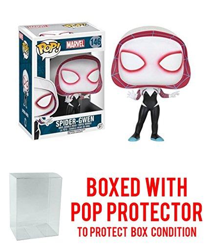 Marvel Spider-Man Spider-Gwen Funko Pop with Box Protector