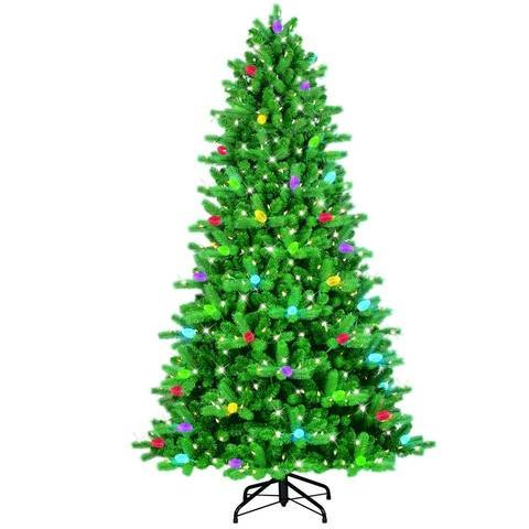 75 ft itwinkle christmas tree 75 multi color changing led create light show - Color Changing Led Christmas Tree