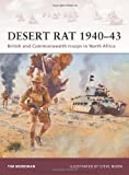 img - for Desert Rat 1940-43: British and Commonwealth troops in North Africa (Warrior) book / textbook / text book