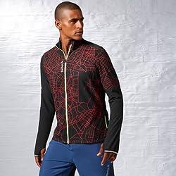 Reebok Men's Casual Jacket  (4054714893225_B83824_2XL_Black)
