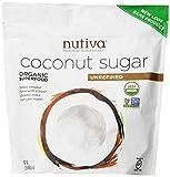 Nutiva Organic Sugar, Coconut, 1 Pound
