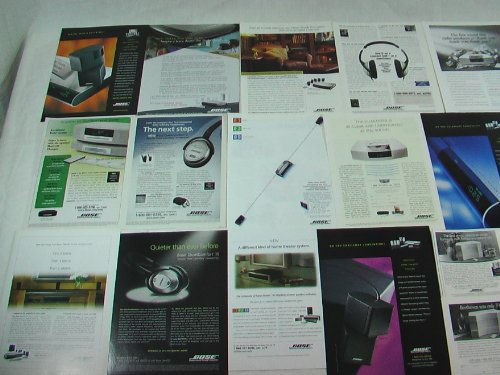 Bose Electronics Ad Collections 1990S To 2000S