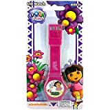 Dora The Explorer Kids Watch - Nickelodeon Dora The Explorer Digital Watch (Purple)