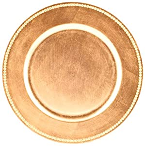 koyal wholesale gold charger plate 24 pack kitchen