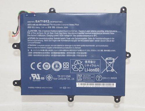 Acer ICONIA TAB A200 3280mAh 7.4V Battery BAT1012 BT.00203.011 / BM00203011
