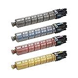 Do It Wiser Compatible Toner Set Black Cyan Magenta Yellow For Ricoh Aficio SP C430 SP C430DN SP C431DN SP C431DN-HS...