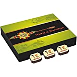 Rakhi Chocolata Hamper - Rakhi Gift For Brother - 9 Chocolate Box With Rakhi