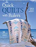 img - for Quick Quilts with Rulers: 18 Easy Quilt Patterns book / textbook / text book
