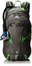High Sierra Moray Hydration Pack, Charcoal/Kelly, 22-Liter