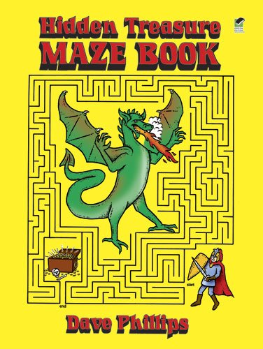 Hidden Treasure Maze Book (Dover Children's Activity