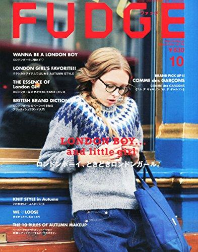 FUDGE 2015年 10 月号
