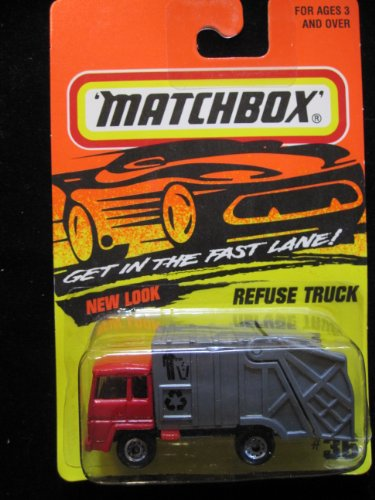 Refuse Truck Matchbox Super Fast Series #36 - 1