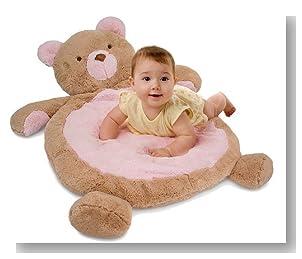 Bestever Baby Mat, Pink Bear