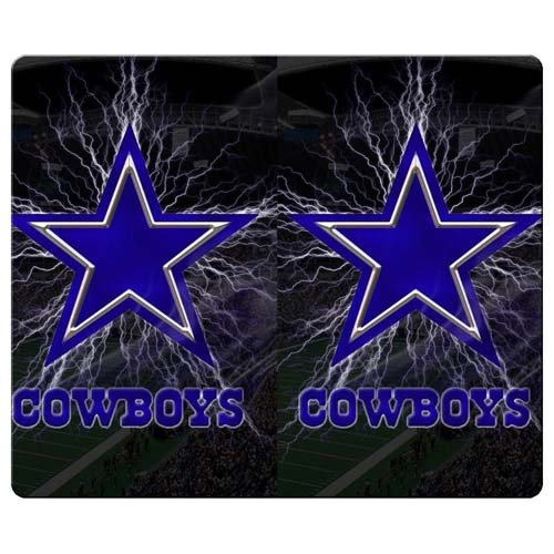 35x25cm 12x10inch Mousepad rubber latest high technology firmly dallas cowboys