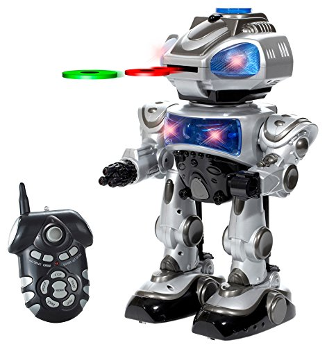 World Tech Toys Robokid Programmable Disc Shooting RC Robot (Hobby Programmable Robots compare prices)